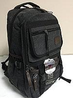 Джинсовый рюкзак для города . Высота 47 см,длина 31 см,ширина 22 см., фото 1