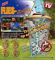 Ловушка-приманка Flies Away эффективное средство от мух и комаров