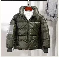Осенняя куртка из пухового хлопка от 6 до 13 лет для девочки, зеленая., фото 1