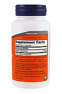 Now Foods, Таурин, 500 мг, 100 капсул, фото 3