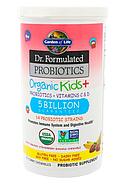 Garden of Life, Пробиотическая добавка Dr. Formulated Probiotics, Organic Kids +, пробиотики и витамины C и D,, фото 3