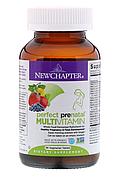 New Chapter, Идеальный пренатальный мультивитаминный комплекс, 96 вегетарианских таблеток, фото 8