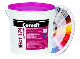 Ceresit CT 174/25  Силикат-силикон штукатурка, камешковая 2,0 мм