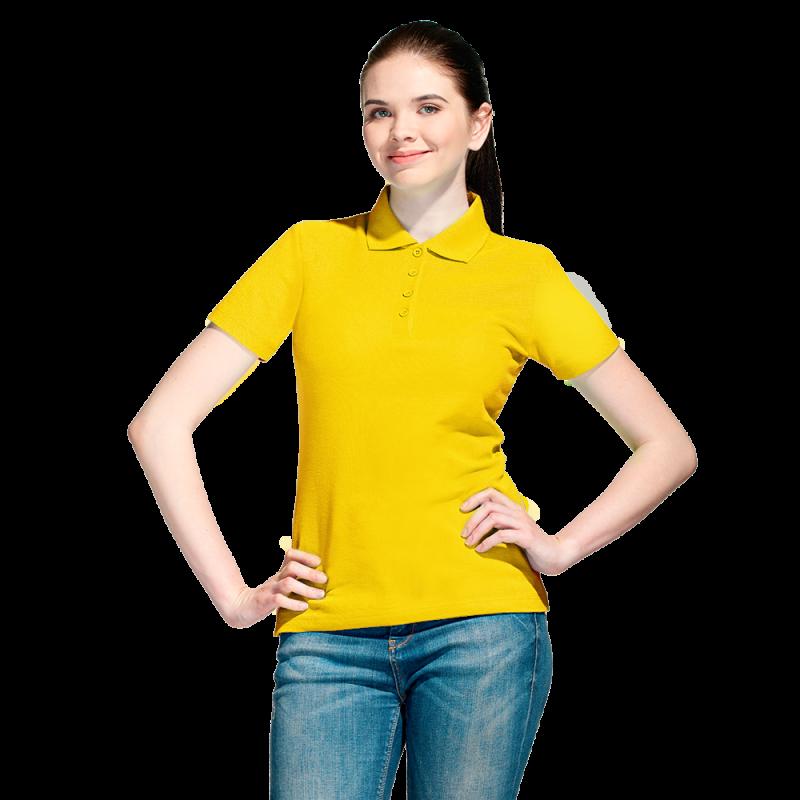 Базовая рубашка поло , StanWomen, 04WL, Жёлтый (12), XXL/52
