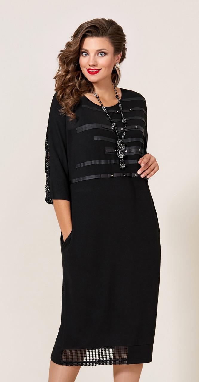 Платье Vittoria Queen-9623, черный, 54