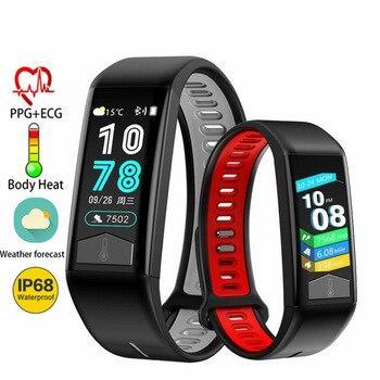 Фитнес браслет здоровья - температура тела, давления, пульс, сон, шагомер.