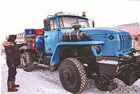 Локомобиль Урал (снегоуборочный поезд, ремонт железнодорожных путей, коммунальная снегоуборочная техника)
