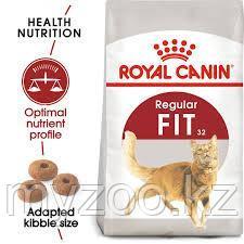 Корм для кошек с умеренной активностью FIT 32 15kg