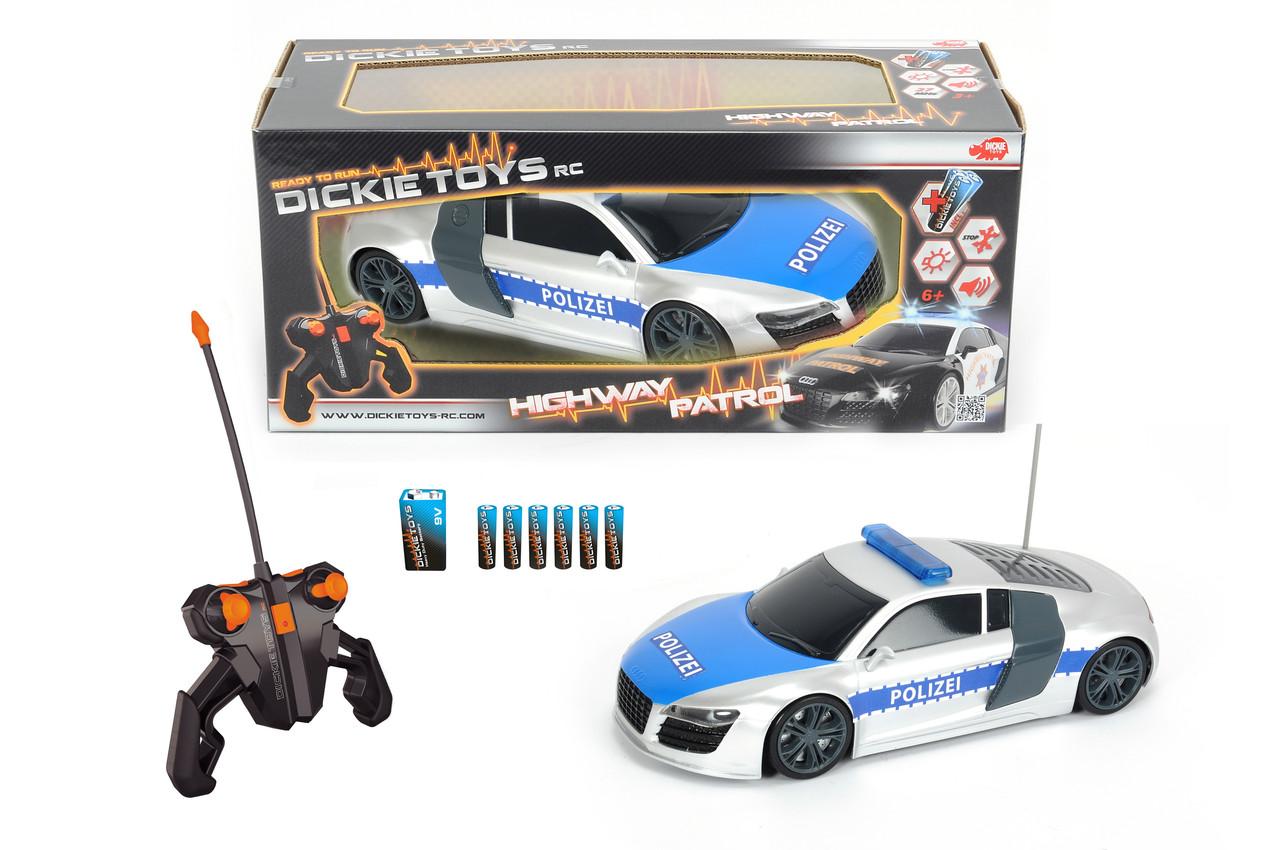 Радиоуправляемая машина Полицейский патруль на р/у, 2-х канальный, 1:16, 28см,