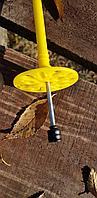Дюбель тарельчатый *90 LEWOD PREMIUM с оцинкованным гвоздём и термоголовкой, фото 1