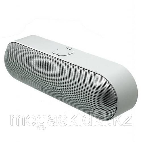 Портативная колонка Bluetooth S812 Серебро