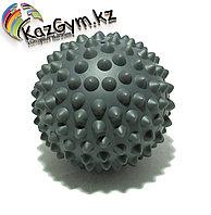 Мяч массажный 9 см серый (FT-WASP)