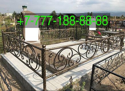 Тротуарная плитка на могиле облагораживание, фото 2