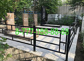 Укладка тротуарной плитке на могиле - благоустройство захоронений