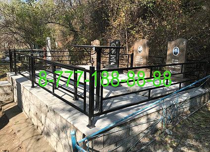 Тротуарная плитка на могилу, благоустройство мест захоронения, фото 2
