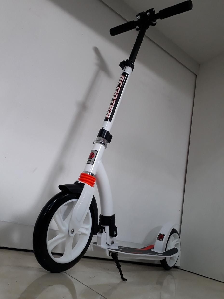 Взрослый самокат Scooter City Pro. До 100. 145-195 см. Отличный подарок