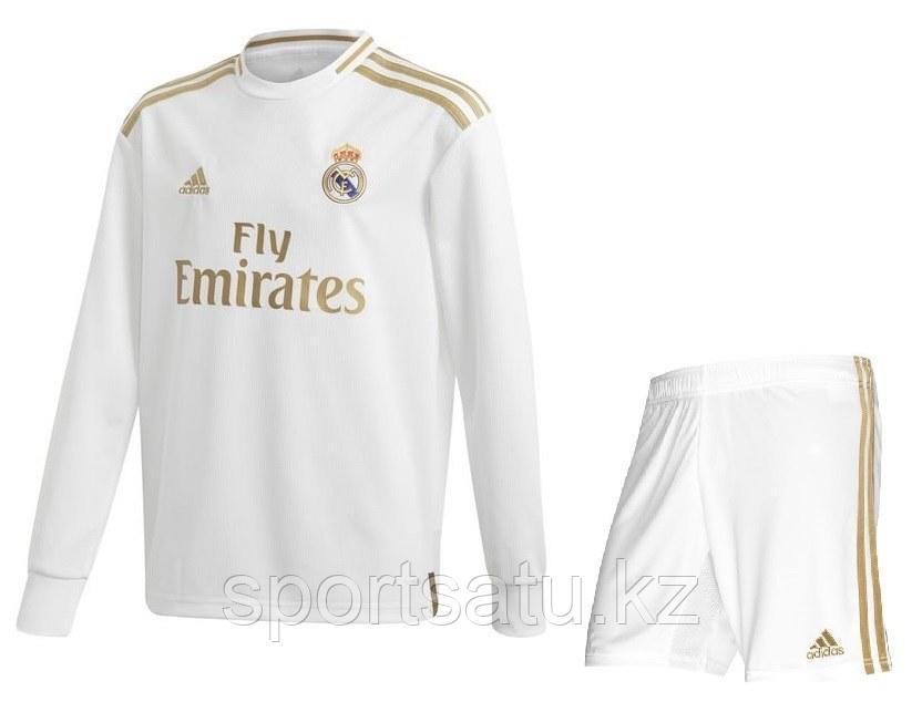 Реал Мадридфутбольная форма2019/20 домашняя (майка+шорты)