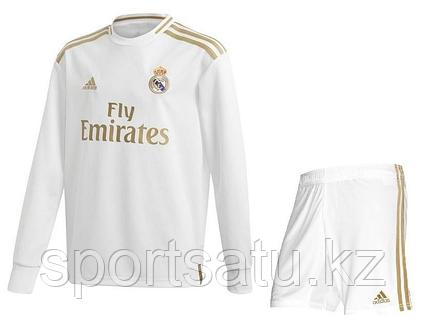 Реал Мадрид футбольная форма 2019/20 домашняя (майка+шорты)