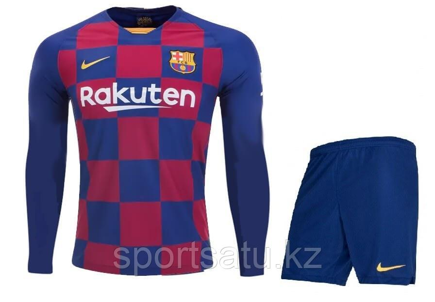 Барселона футбольная форма  2019/20 домашняя (майка+шорты)