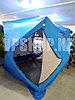 Зимняя палатка куб 3 с синтепоном, трехслойная 220х220х215 см, фото 2
