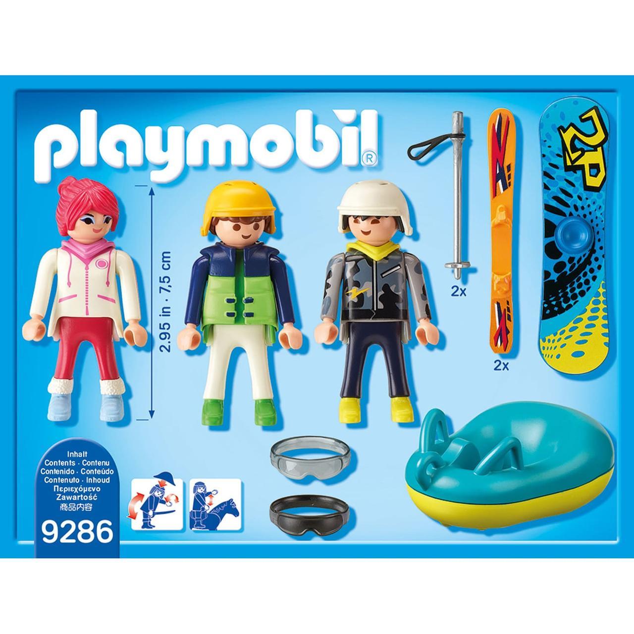 Конструктор Playmobil Зимние виды спорта: Зимние виды спорта - трио - фото 3