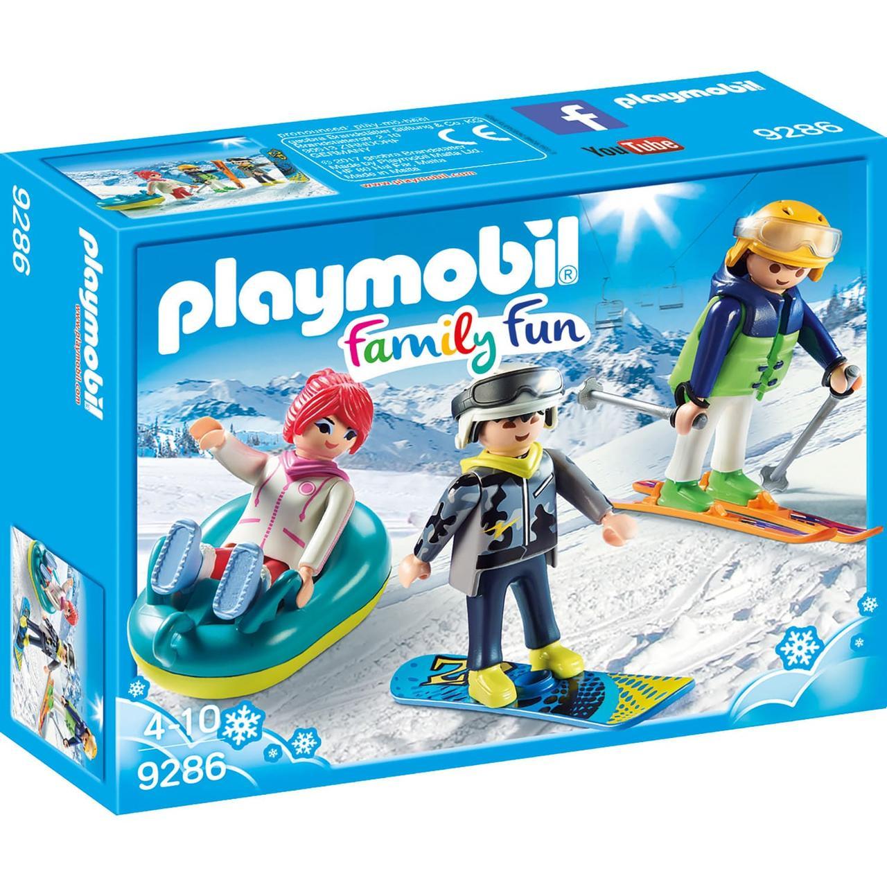 Конструктор Playmobil Зимние виды спорта: Зимние виды спорта - трио