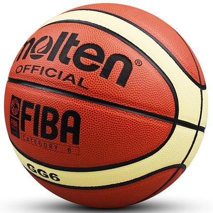 Баскетбольный мяч MOLTEN GG6, фото 2
