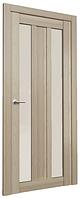 МОДЕЛЬ S-PO-03, ДВЕРЬ МЕЖКОМНАТНАЯ 600, Кипарис светлый, Белый лакобель