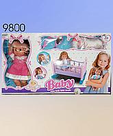 Игрушечная кроватка с куклой., фото 1