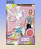 Кукла с ребёнком в коляске, Defa Lusy.