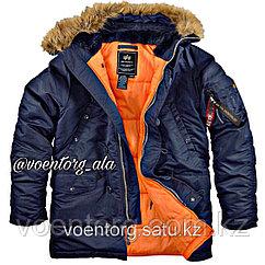 """Куртка лётная """"Аляска N3B VF 59"""" Alpha Industries синяя"""