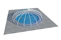Павильон для бассейна из сотового поликарбоната SOFIA 6