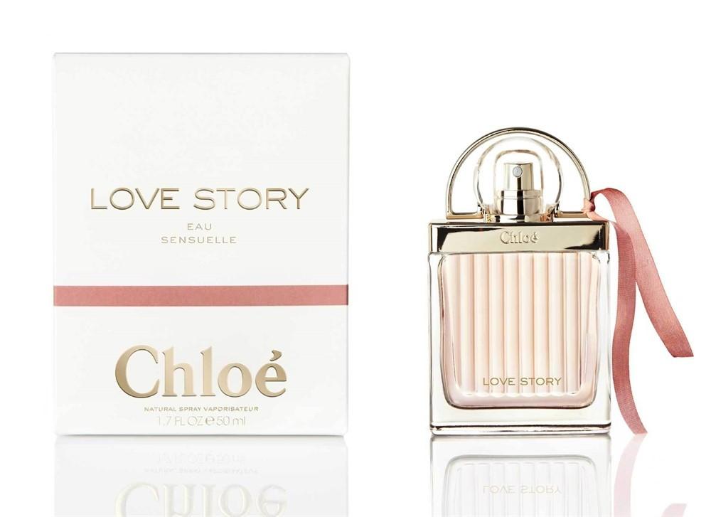 Chloe Love Story Eau Sensuelle Мини 7,5 ml (edp) Тестер 75 ml (edp), Женский, Цветочные