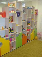 Стеллаж для игрушек детский