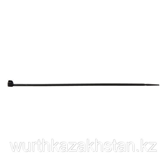 Лента для связки кабеля чёрная 3,5X140MM, упаковка 100 шт.