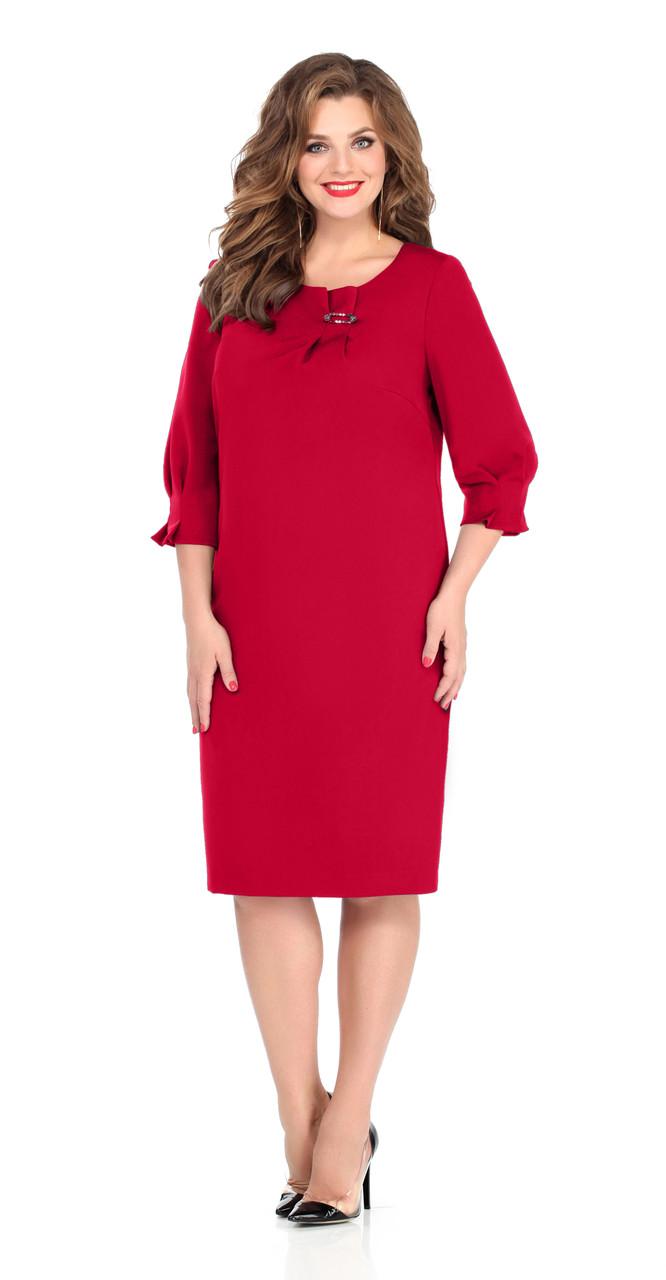 Платье TEZA-243/2, красный, 50