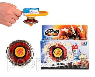 Волчок Infinity Nado с устройством запуска Fiery Blade Огненный клинок