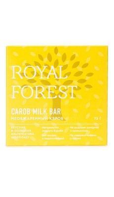 Шоколад Royal Forest из необжаренного кэроба, 75 гр