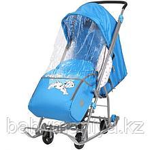 Cанки - коляска Ника Disney baby 1, Далматинец Голубой