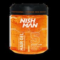 Nishman Ultra Strong Hair Gel N5 (Гель для укладки волос) 750 мл.