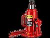 """Домкрат гидравлический бутылочный """"RED FORCE"""", 6т, 216-413 мм, в кейсе"""