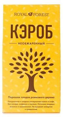 Кэроб необжаренный Royal Forest, 200 гр