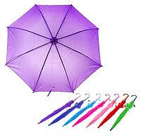Зонт детский для малышей, от 4 лет до 9 лет, диаметр 62см