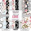 SENSUAL LOVE - набор двусторонней бумаги 30,5см х 30,5см
