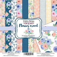 """Flower mood - набор двусторонней бумаги 30,5см х 30,5см (12""""x12"""")"""