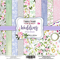 Wedding of our dream - набор двусторонней бумаги 30,5см х 30,5см