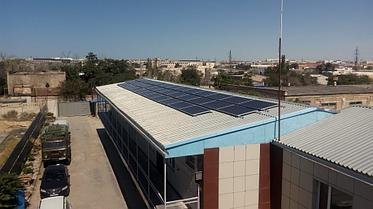 Сетевая солнечная станция 14,4 кВт в г. Актау 1