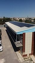 Сетевая солнечная станция 14,4 кВт в г. Актау 11