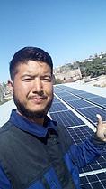 Сетевая солнечная станция 14,4 кВт в г. Актау 12