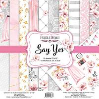 Say yes - набор двусторонней бумаги 30,5см х 30,5см, фото 1